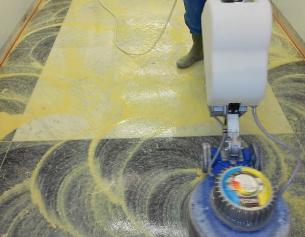 cristallisation - plancher bois
